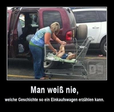 Lustige Bilder Geschichte Einkaufswagen