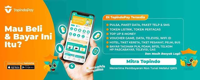 Topindopay - Agen Pulsa Paling Murah Se Indonesia - Server Pulsa Termurah dan Terlengkap - Distributor Pulsa Paling Murah - PT. Topindo Solusi Komunika