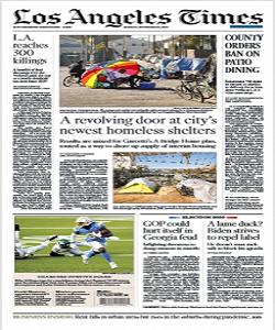 Los Angeles Times Magazine 23 November 2020 | Los Angeles News | Free PDF Download