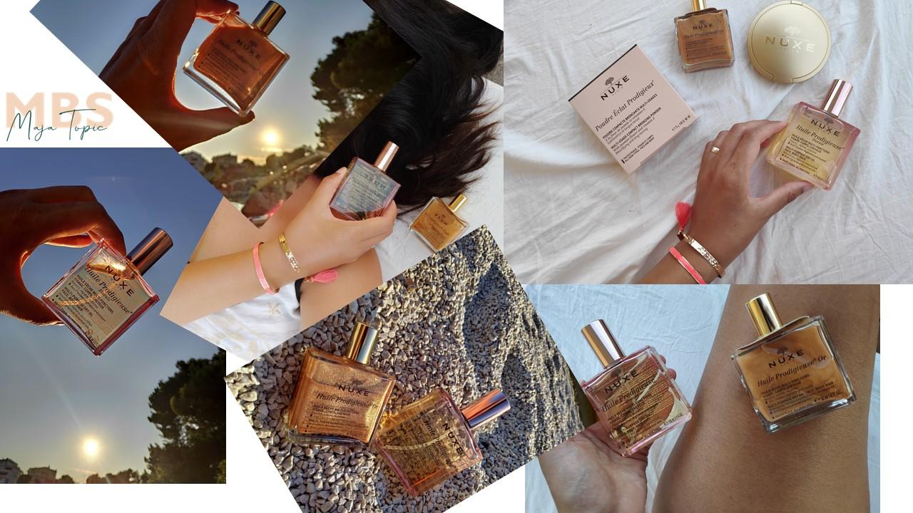 Suha ulja za tijelo, kosu i lice (Nuxe & Dior)