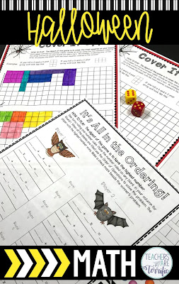 STEM and Halloween! This post has tips for using Halloween Math resources to create excitement and maintain engagement during the busy weeks leading up to October 31st. Elementary students love all these math resources!