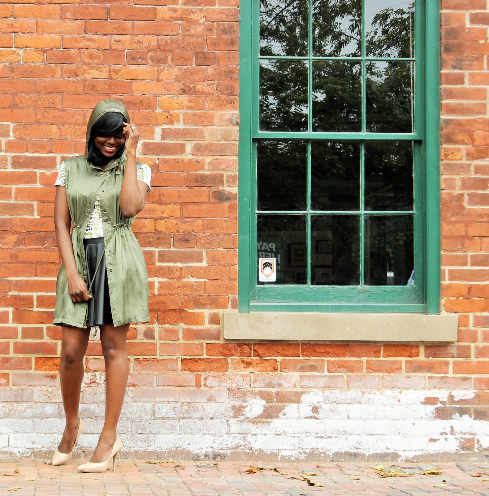 Military Inspired Hooded Outerwear By Lumiere