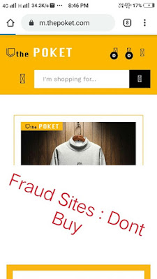 thepoket, thepoket shopping sites fraud, thepoket customer care, thepoket customer care number, thepoket product not deliver, thepoket product refund, online fraud shopping sites, frad shopping sites