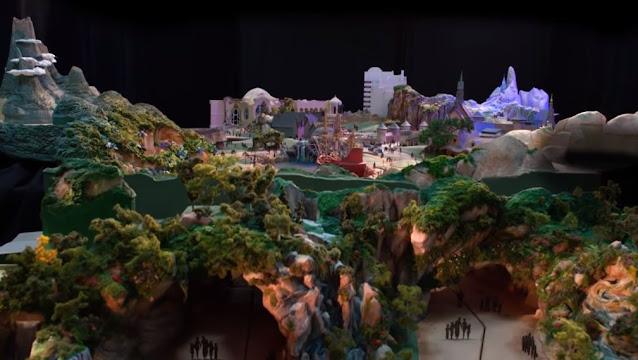 Take-a-look-at-the-Fantasy-Springs-Model-Tokyo-DisneySEA, 東京迪士尼海洋