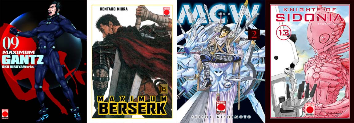 Novedades Panini Comics España: manga seinen