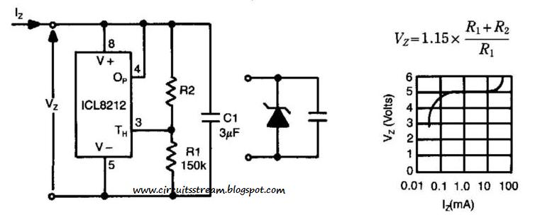 Build a Programmable Zener Circuit Diagram
