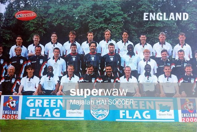 England Squad 1997