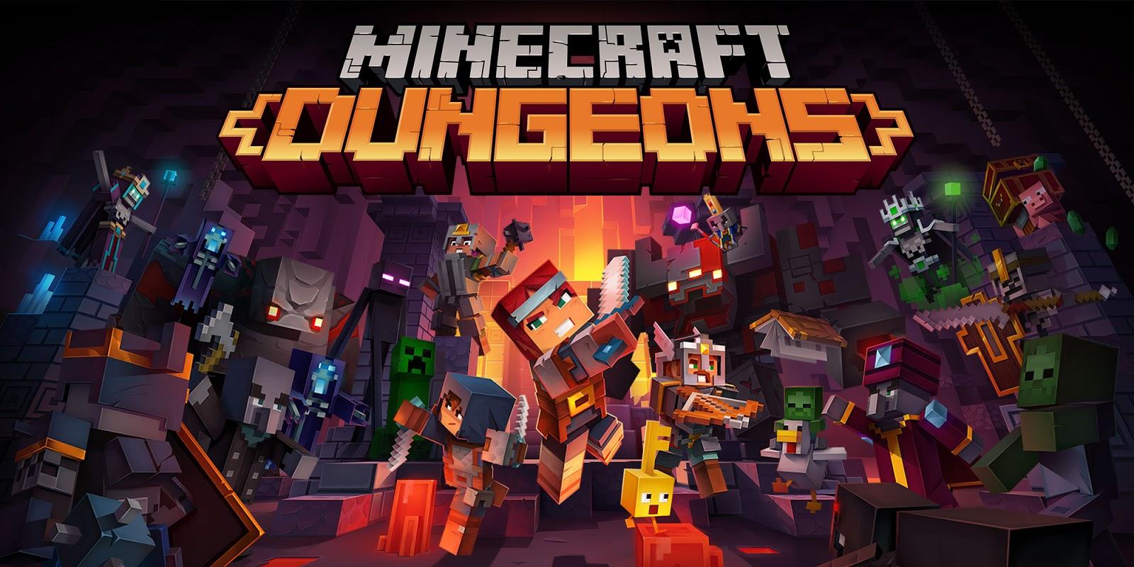 مراجعة Minecraft Dungeons