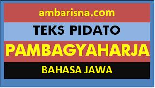 0. TEKS PIDATO PAMBGYAHARJA