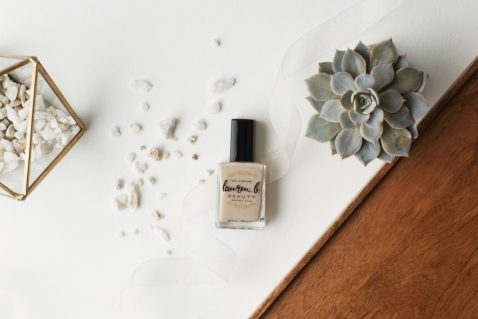 Lauren B. Beauty Nail Couture Collection & Review Beach Bride