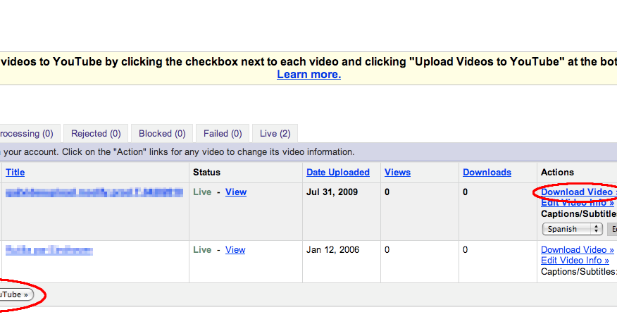 Official YouTube Blog: An update on Google Video - Finding