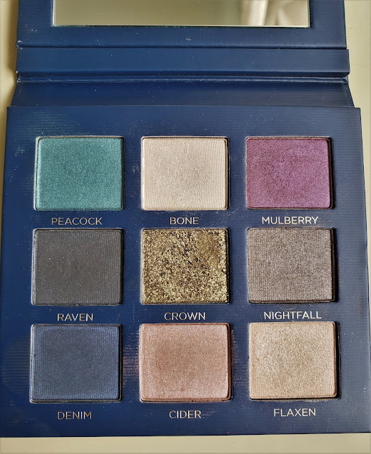 beauty counter velvet eyeshadow palette Statement