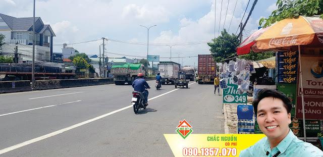 Đất mặt tiền quốc lộ 51, ngay UBND xã Long An, cách ngã tư cầu vượt cao tốc Hồ Chí Minh - Long Thành