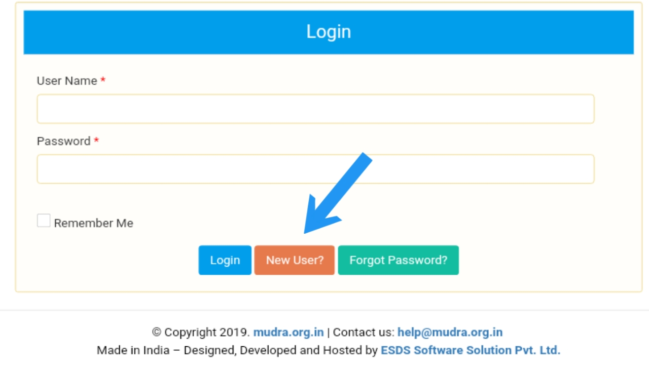 mudra loan online application apply for sbi bank