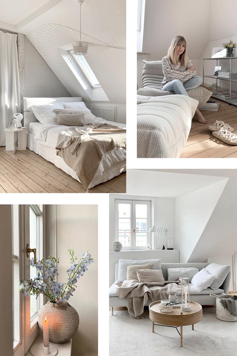 El ático-loft de estilo rústico y neutro de Sandra / Sandra's rustic and neutral penthouse-loft (@KARLAS_VIEW).