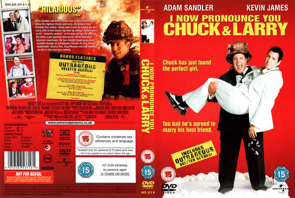 Movies Unlimited I Now Pronounce You Chuck Larry 2007 American Comedy Film Adam Sandler
