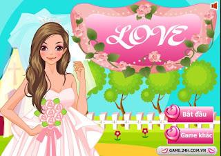 chơi game cô dâu mùa hè hay nhát