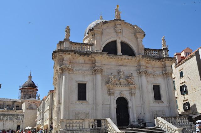 foto de Puerta principal de la Iglesia de San Blas, que ver en Dubrovnik