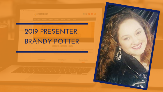 Introducing #PromoDay2019 presenter Brandy Potter. Webinar topic: Book Trailers - The new Video Marketing Tool