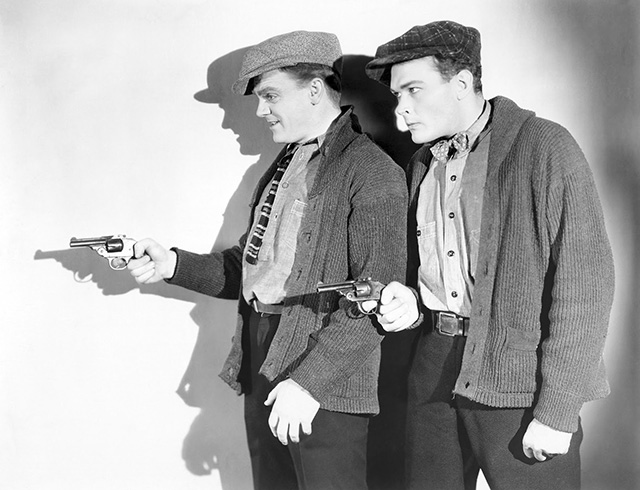 "James Cagney and Edward Woods in ""The Public Enemy"" (1931)."