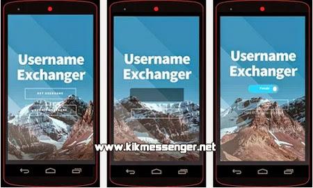 Chatea con gente nueva de manera aleatoria con Kik Username Exchanger