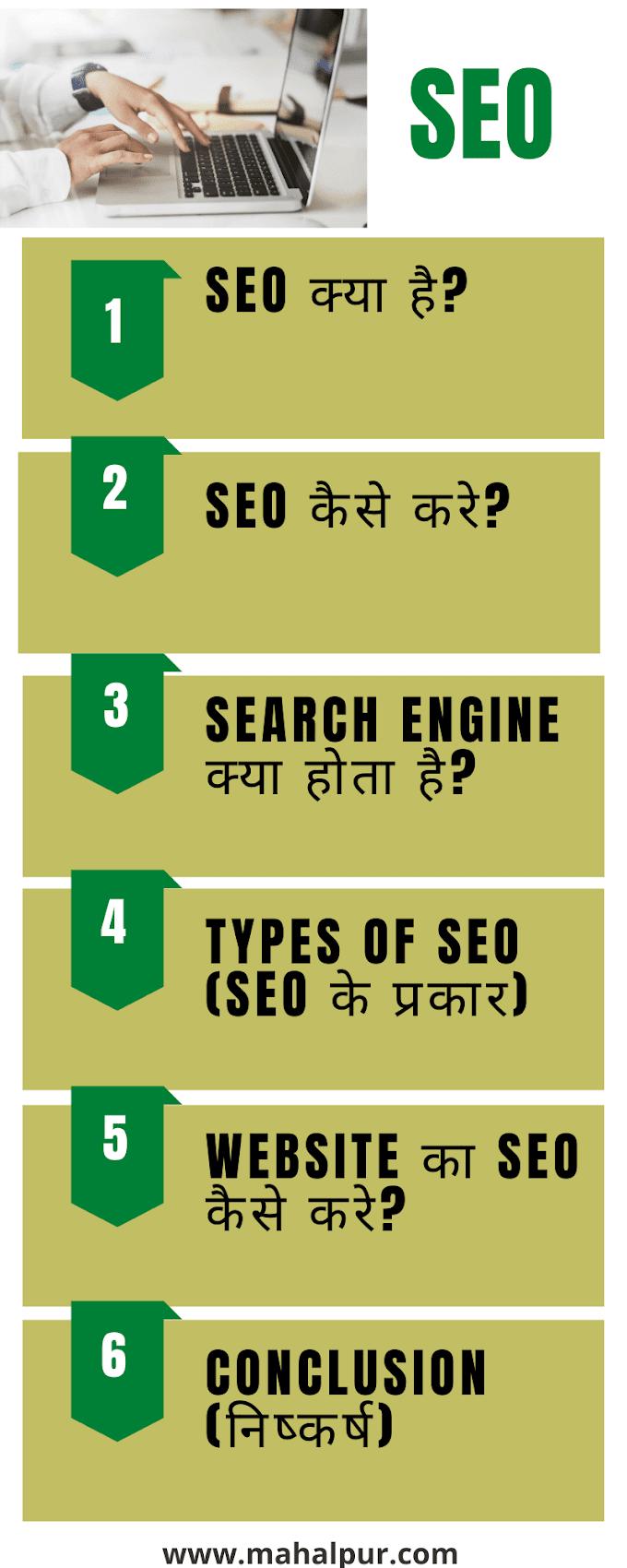 New What is SEO in Hindi (SEO क्या है) 2021: Very Useful