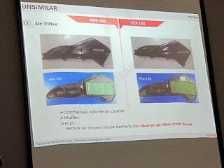 filter udara adv 150 vs pcx
