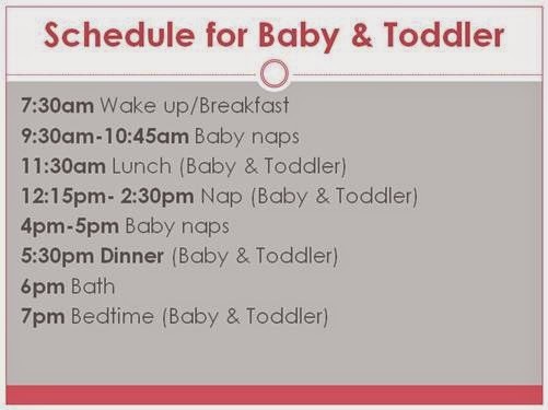 Babywise  Beyond August 2014 - schedules for babies