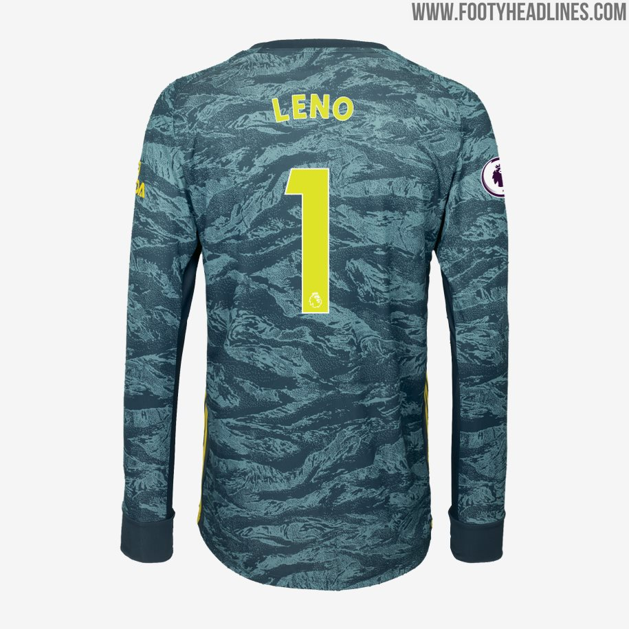 best loved 9fb6f 6de2e Arsenal 19-20 Goalkeeper Home Kit Released - Footy Headlines