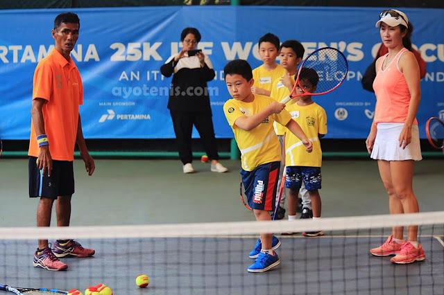 Pelti Gelar Kids Tennis Festival