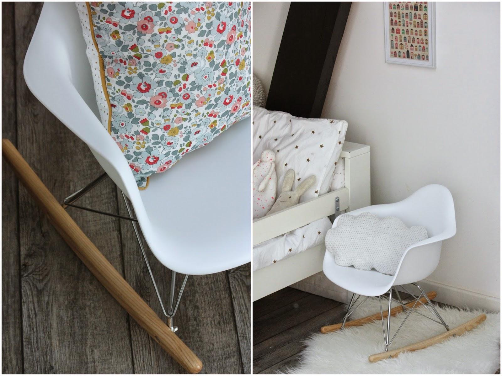 un nouveau regard d co enfant mon coup de coeur de la rentr e le fauteuil eames bascule. Black Bedroom Furniture Sets. Home Design Ideas
