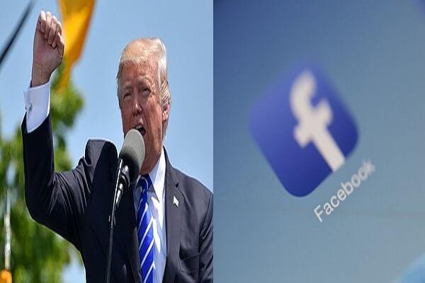 مارك زوكربيرج يجمد حِسَابَيْ ترامب على فايسبوك وإنستغرام