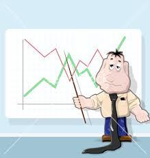 Orang yang sedang menerangkan analyst