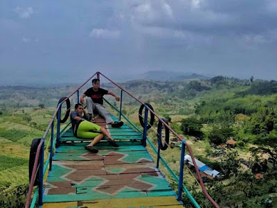 The peak of Arga Pesona