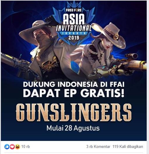 Gunslingers Free Fire