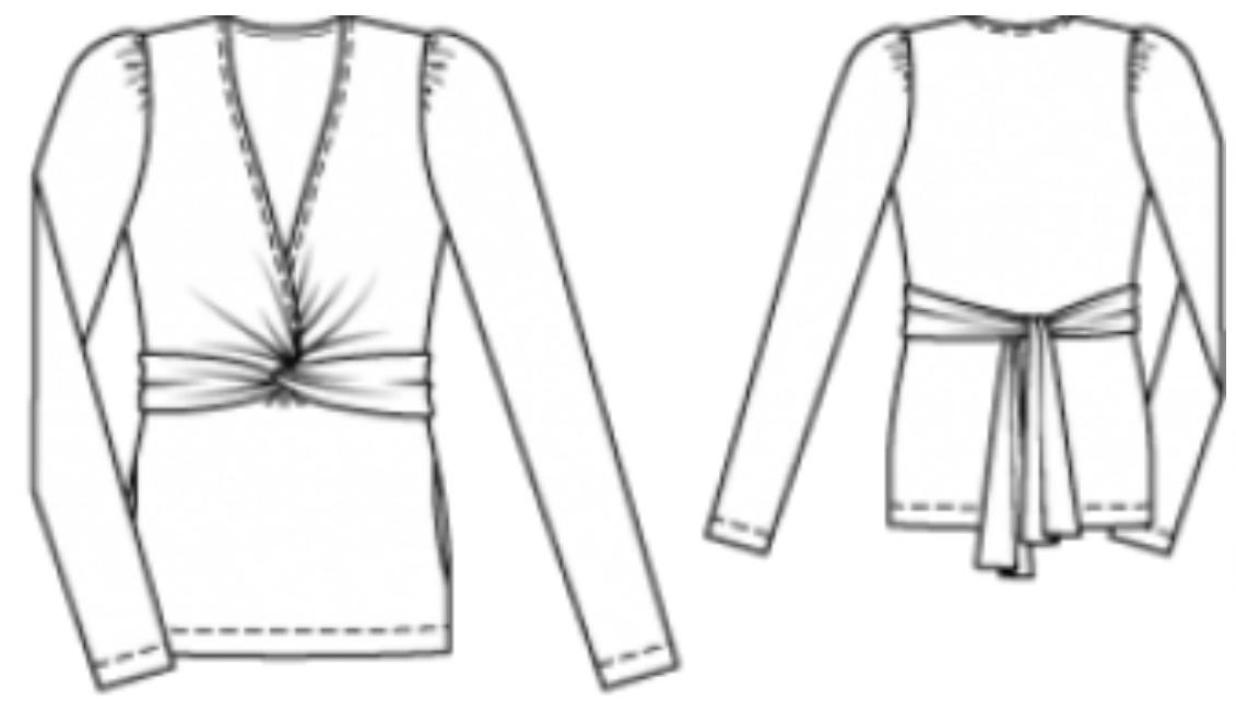Transformar patrones ~ Moda en la Costura