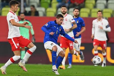 ملخص مباراة ايطاليا وبولندا في دوري الامم الاوروبية