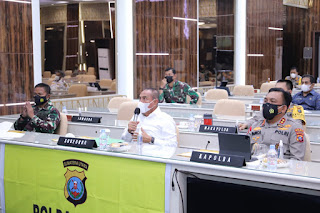 Gubernur Sumut Apresiasi Gerak Cepat Kapoldasu Tangani Covid-19