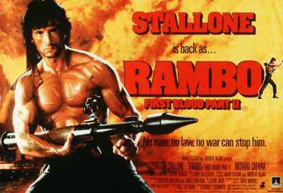 Rambo First Blood Part II Hindi + Telugu + Tamil + Eng Full Movie 1985