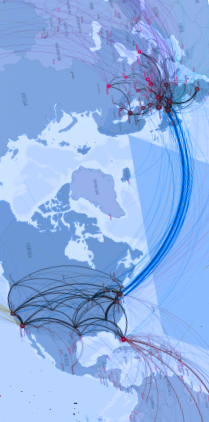 Thumbnail of telegeography.com's Global Internet Map 2012