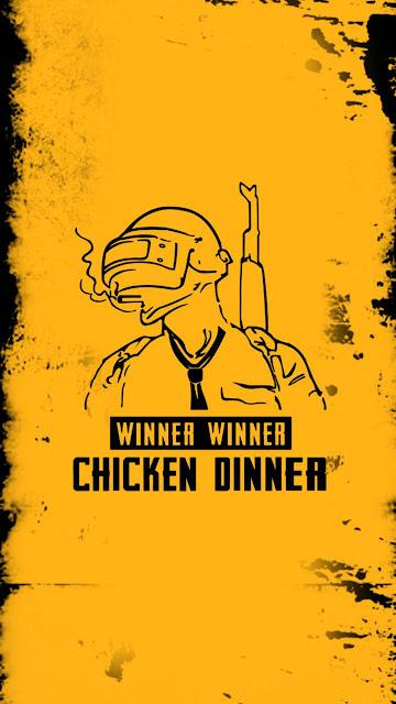 Winner Winner Chicken Dinner Pubg Wallpaper for mobile