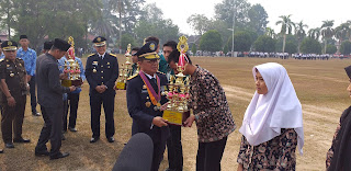 Gubernur Jambi Jadi Irup padaPeringatan Hari Perhubungan Nasional