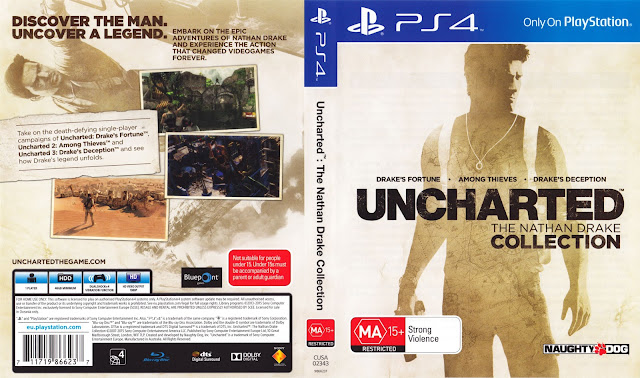 Capa Uncharted The Nathan Drake Collection PS4