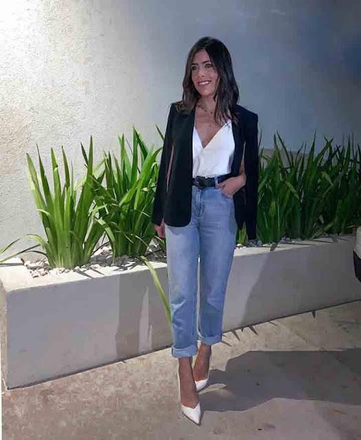 Look de balada com calça jeans