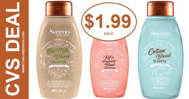 CVS Deals on Aveeno Shampoo