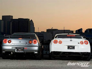 The brother of Nissan Skyline R34 and Nissan Skyline R35