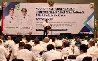Bobby Nasution Ingatkan OPD Jangan Main Main Dengan Anggaran