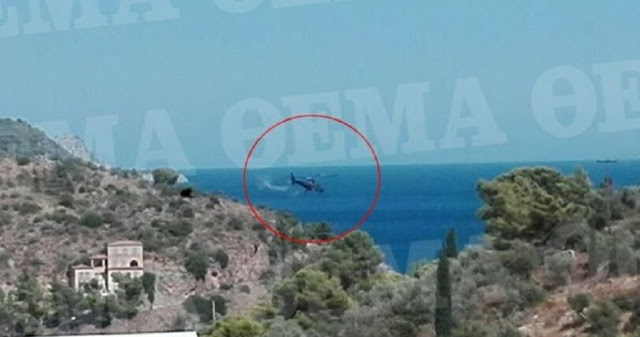 Helicopter crashes in Greece, two Russians and the pilot died