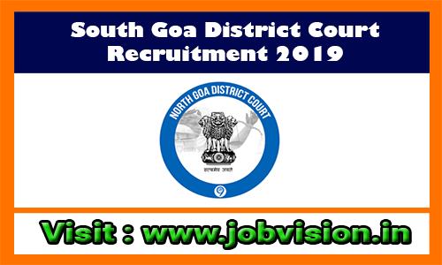 South Goa District Court Recruitment 2019 99 LDC, Peon Posts
