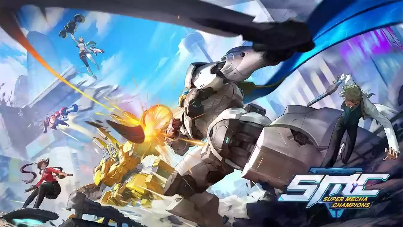 حول العاب battle royale معارك مجنون! مثيرة القتال والأسلحة  Super Mecha Champions